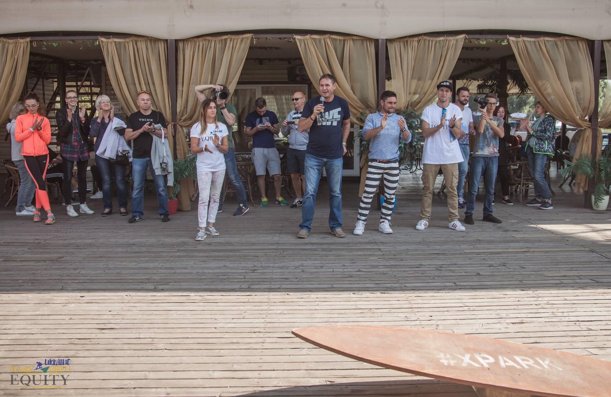 Видео EQUITY Ukraine wake open 2017
